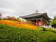 Parco di Yongdusan fotografie stock