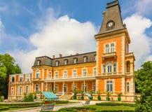 Parco e palazzo Evxinograd o Evksinograd Varna, Bulgaria fotografia stock libera da diritti