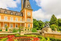 Parco e palazzo Evxinograd o Evksinograd Varna, Bulgaria fotografie stock libere da diritti