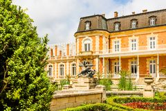 Parco e palazzo Evxinograd o Evksinograd Varna, Bulgaria immagini stock