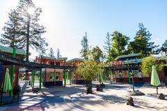 Parco e zoo vuoti felici Fotografie Stock