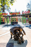 Parco e zoo vuoti felici Immagine Stock Libera da Diritti
