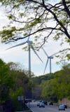 Parco eolico di Gloucester Immagine Stock Libera da Diritti