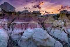 Parco esplicativo Colorado Springs delle miniere della pittura fotografia stock