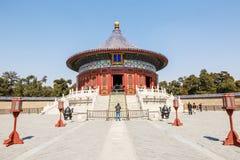Parco famoso del tempio del cielo di Pechino in Cina Fotografie Stock