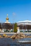 Parco famoso della fontana Fotografia Stock