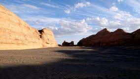 Parco geologico nazionale di Yadan Immagine Stock