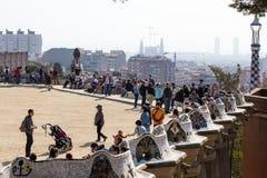 Parco Guell Immagini Stock Libere da Diritti