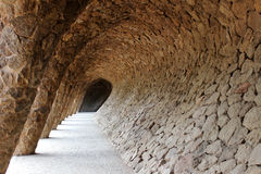 Parco Guell, Barcleona Fotografia Stock