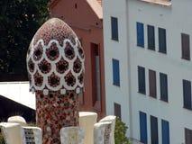 Parco Guell dall'architetto Antoni Gaudi Fotografia Stock Libera da Diritti