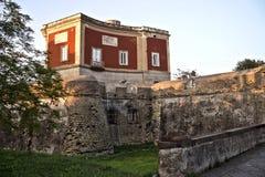 Parco Gussone的城堡 图库摄影