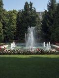 Parco inglese, Craiova, Romania fotografie stock libere da diritti