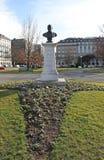 Parco inglese del giardino di Ginevra fotografia stock libera da diritti