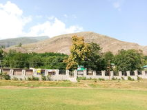 Parco Kashmir Valley di Mansbal Immagine Stock Libera da Diritti