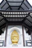 Parco Londra di battersea di Buddha della pagoda di pace Immagini Stock Libere da Diritti