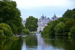 Parco Londra Regno Unito dei jamess del san Fotografie Stock