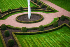 Parco a Lussemburgo Fotografie Stock
