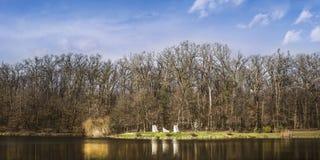 Parco Maksimir Zagabria della città Fotografie Stock