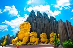 Parco molto bello, moderno e grande nella città di Ho Chi Minh Fotografia Stock