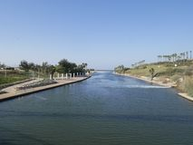 Parco Nahal Hadera Fotografie Stock
