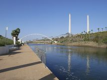 Parco Nahal Hadera Immagini Stock Libere da Diritti