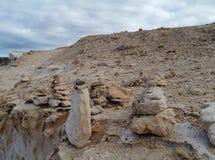 Parco naturale Ajuy su Fuerteventura Immagini Stock