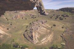 Parco naturale del canyon di Duraton, in Sepulveda, la Spagna Immagini Stock Libere da Diritti