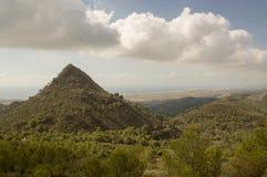 Parco naturale del deserto delle palme Fotografie Stock