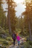 Parco naturale del odle di Puez Fotografia Stock