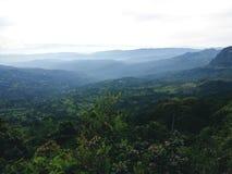 Parco naturale di Chicaque del paesaggio colombiano fotografia stock