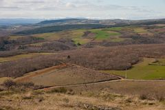 Parco naturale di Montesinho Fotografia Stock Libera da Diritti