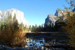 Parco naturale di Yosemite Fotografie Stock