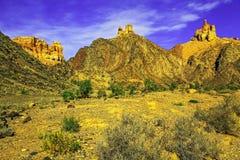 Parco naturale nazionale dello stato di Charyn Alma-Ata, il Kazakistan Fotografia Stock