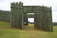 Parco nazionale Andersonville o campo Sumter, un sito storico nazionale in Georgia, sito della prigione e del cimitero confederat Immagini Stock