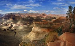 Parco nazionale Arizona U.S.A. del Grand Canyon Fotografia Stock