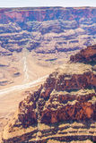 Parco nazionale Arizona U.S.A. di Grand Canyon Fotografia Stock