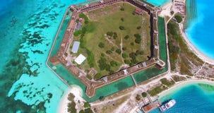 Parco nazionale asciutto di Tortugas, Jefferson forte florida U.S.A. video d archivio