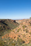 Parco nazionale Australia della gamma del capo di vista aerea Fotografie Stock