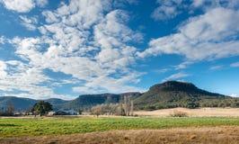Parco nazionale blu Australia delle montagne Immagini Stock Libere da Diritti