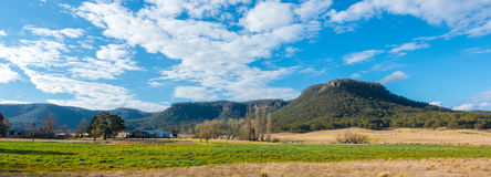 Parco nazionale blu Australia delle montagne Fotografia Stock Libera da Diritti