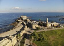 Parco nazionale Cesarea Fotografie Stock Libere da Diritti