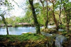 Parco nazionale Croazia di Krka Fotografia Stock