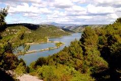 Parco nazionale Croazia di Krka Fotografia Stock Libera da Diritti