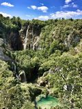 Parco nazionale dei laghi Plitvice Fotografia Stock