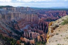 Parco nazionale del canyon di Brice Fotografia Stock Libera da Diritti