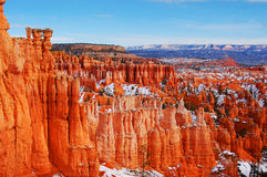 Parco nazionale del canyon di Bryce Fotografia Stock Libera da Diritti