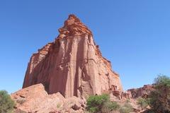 Parco nazionale del canyon di Talampaya fotografia stock libera da diritti