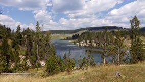 Parco nazionale del fiume Yellowstone, Yellowstone Immagini Stock Libere da Diritti