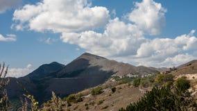 Parco Nazionale del Gran Sasso Royaltyfri Bild
