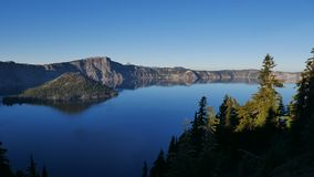 Parco nazionale del lago crater fotografie stock